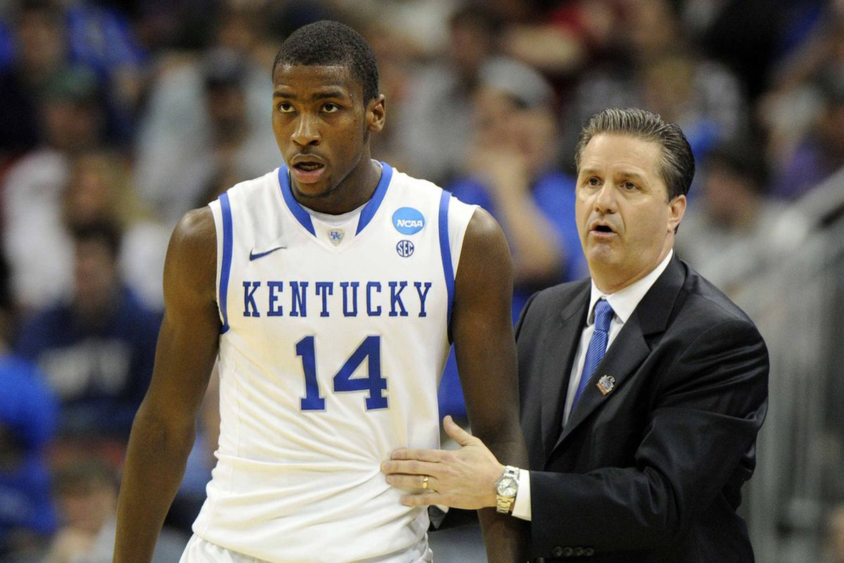 Michael Kidd-Gilchrist and John Calipari, two people who have known William Wesley a long time.