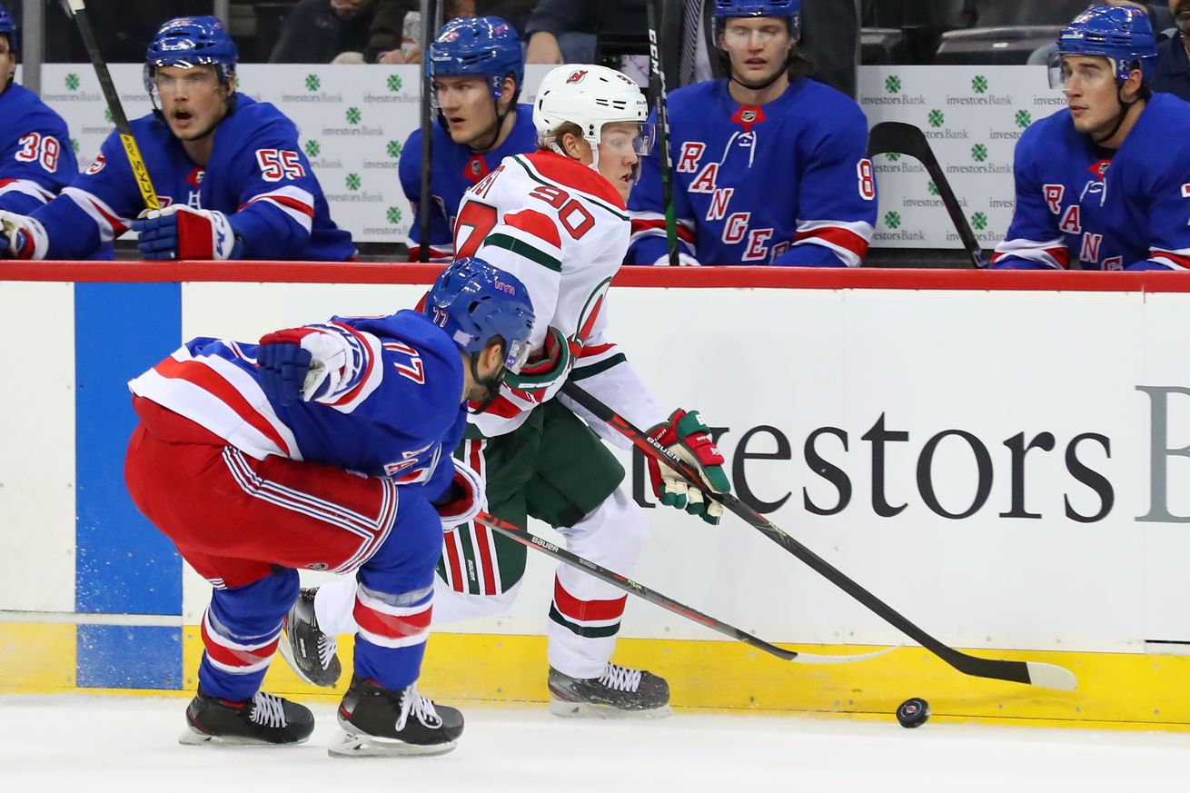 NHL: NOV 30 Rangers at Devils