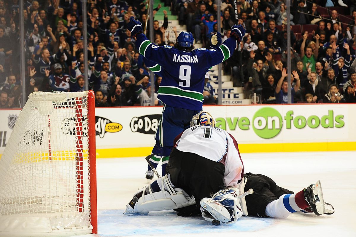 An old Kassian goal on Varlamov.  Can't get tired of that!