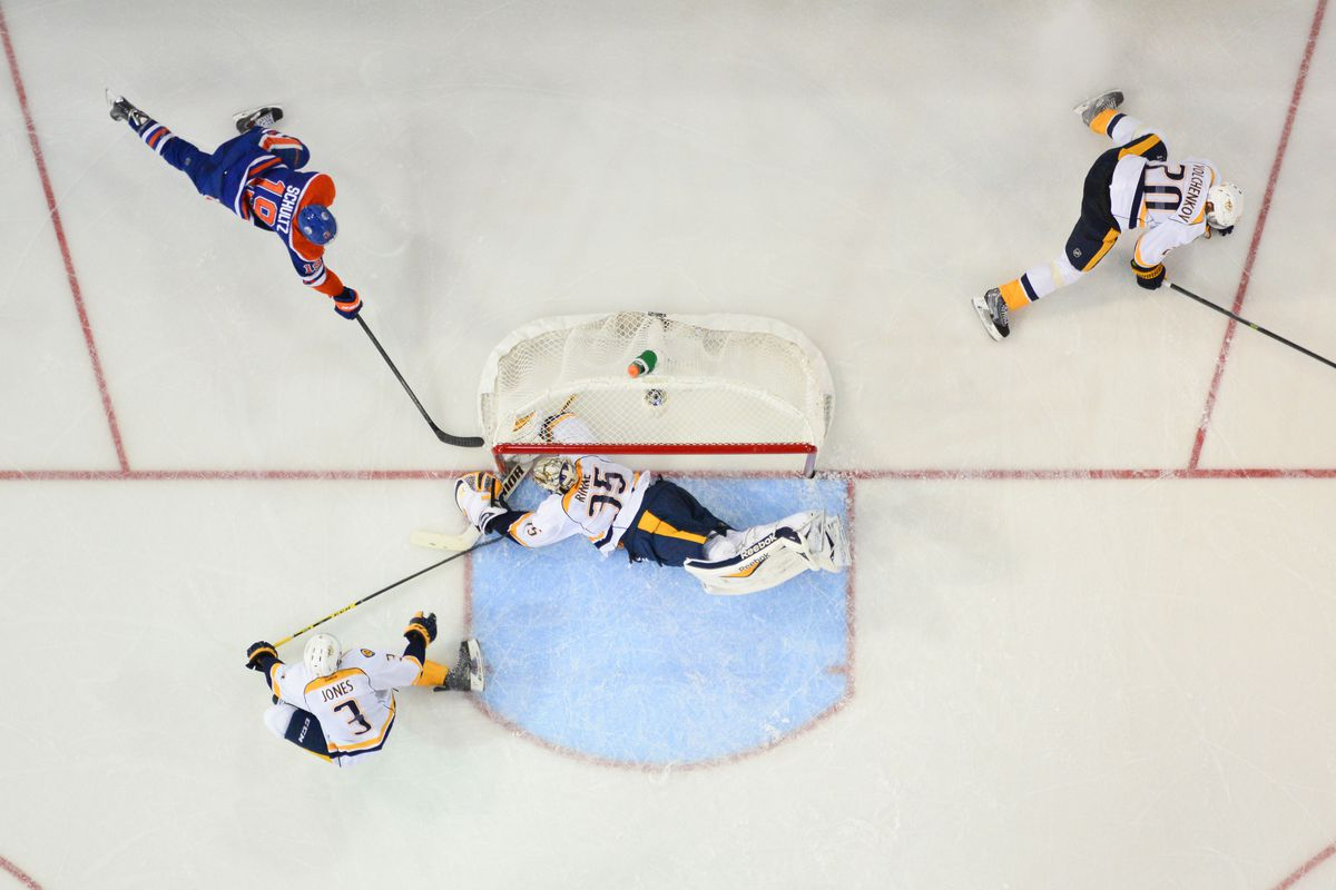 Just another day at the office for Pekka Rinne and the Nashville Predators