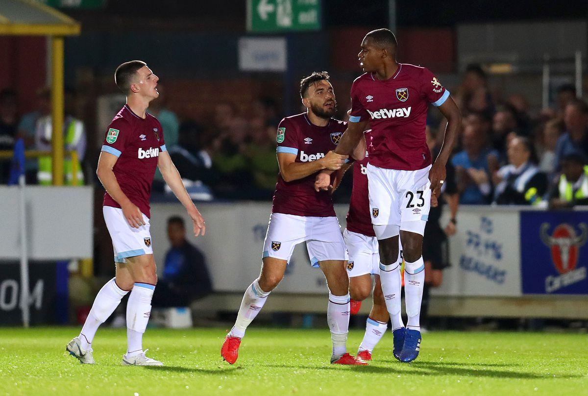 AFC Wimbledon v West Ham United - Carabao Cup Second Round