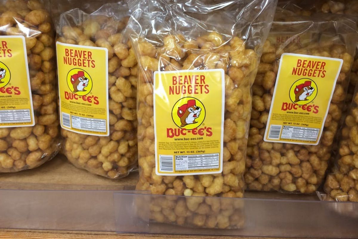 Beaver nuggets from Buc-ee's