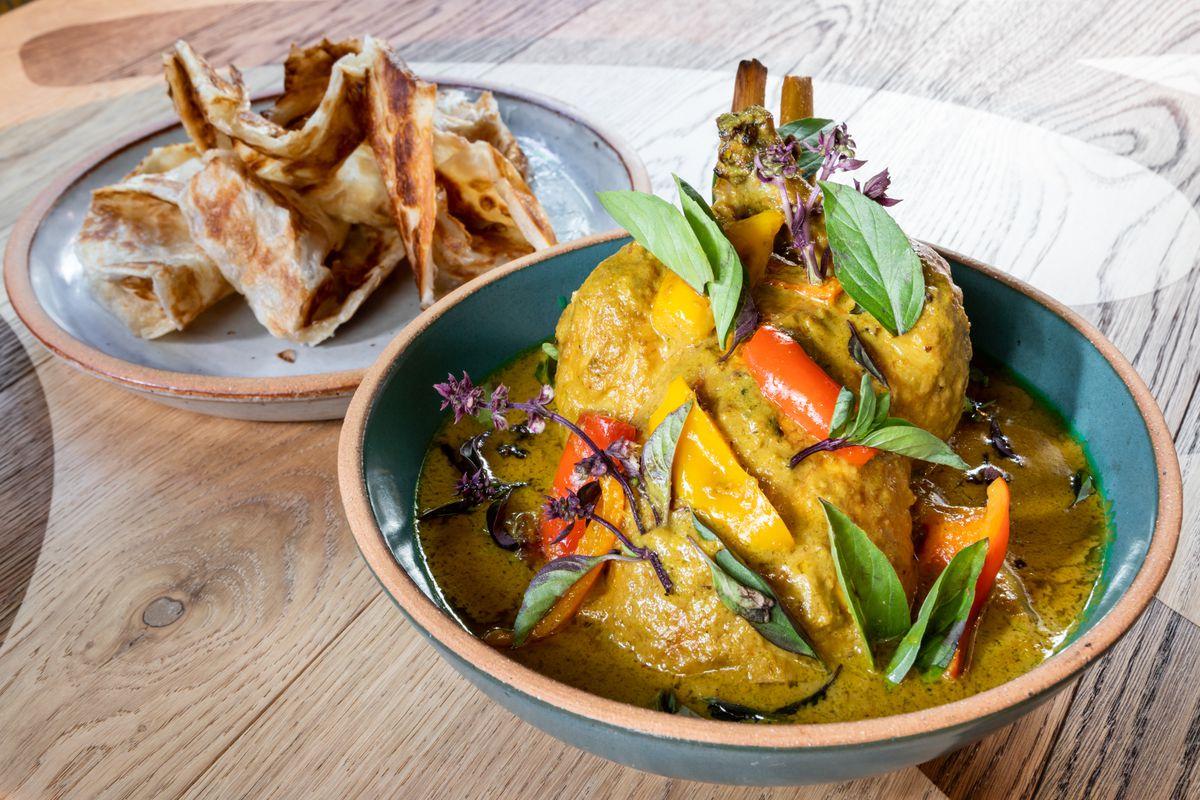 A hen dish at Nari