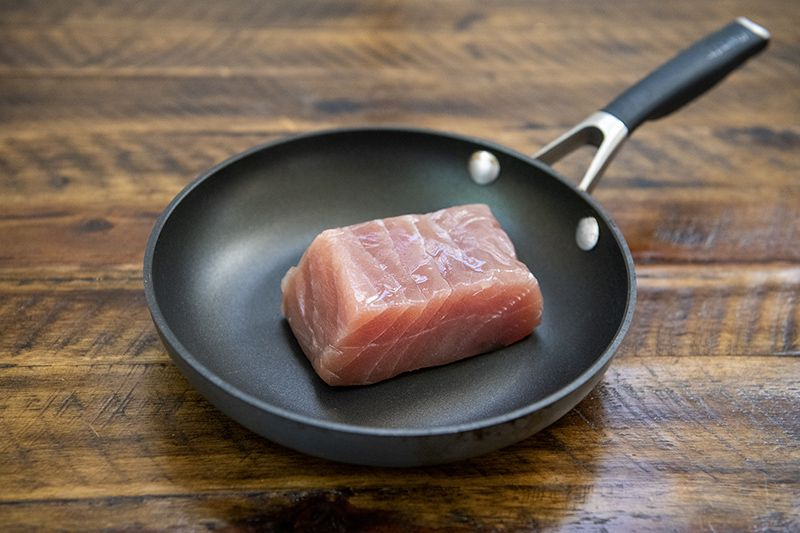Yellowfin tuna from Heritage Seafood at Farmhouse Delivery