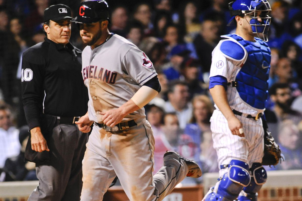 MLB: Cleveland Indians at Chicago Cubs