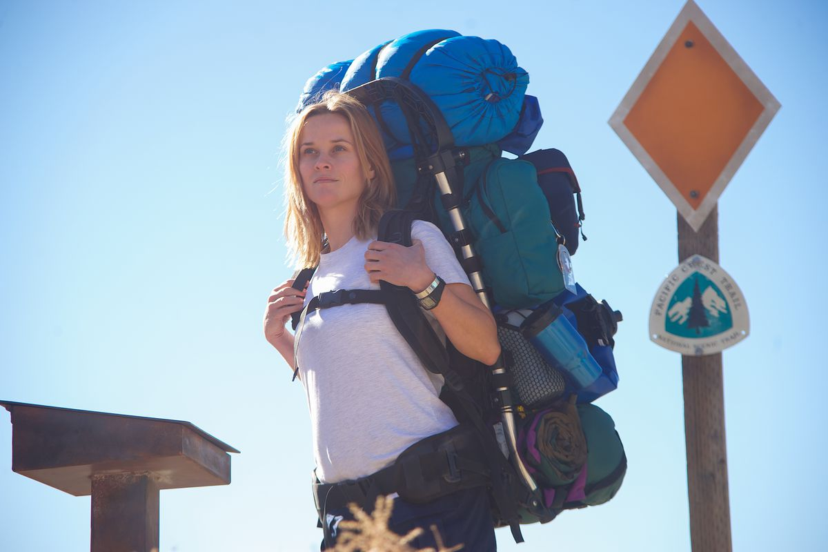 Reese Witherspoon plays Cheryl Strayed in the film version of Strayed's memoir Wild.