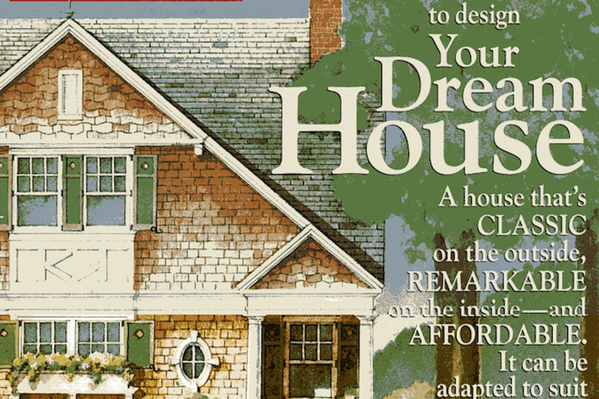 The June, 1994 cover of LIFE announcing the first Dream Home designed by architect Robert A.M. Stern.