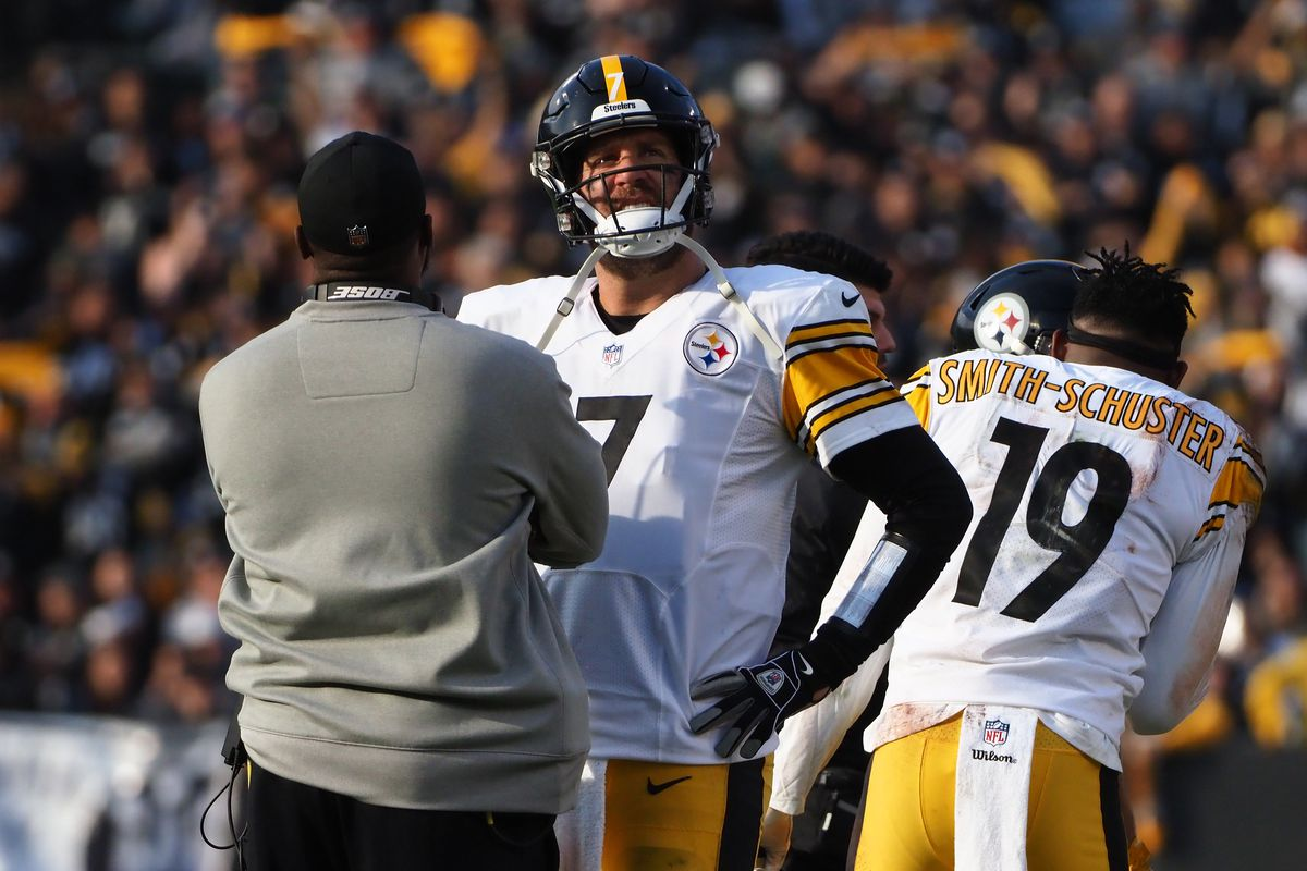 Mike Tomlin left Ben Roethlisberger and the Steelers  playoff chances on  the bench 8d18c8894