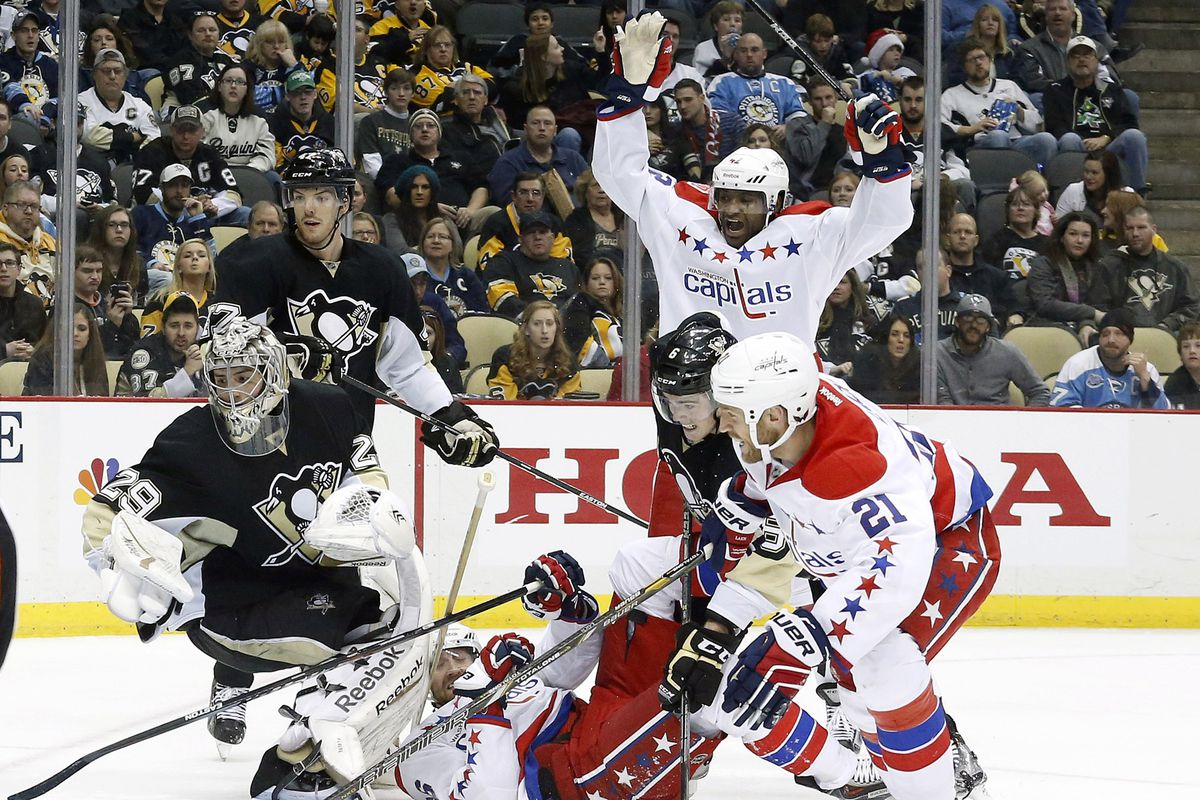 The Capitals got a big win over the Pittsburgh Penguins, who remain atop the division.