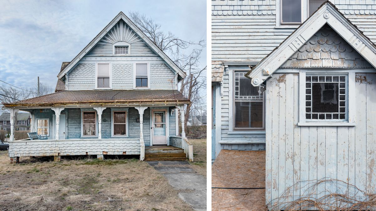 house before/original outhouse, Seaside Victorian Cottage, Queen for a New Day, Nov/Dec 2020