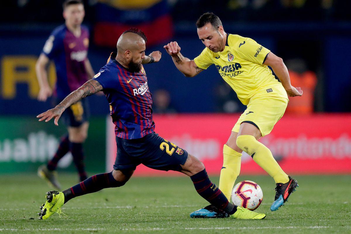 Lionel Messi subbed off during Barcelona vs Villarreal ...  |Barcelona- Villarreal