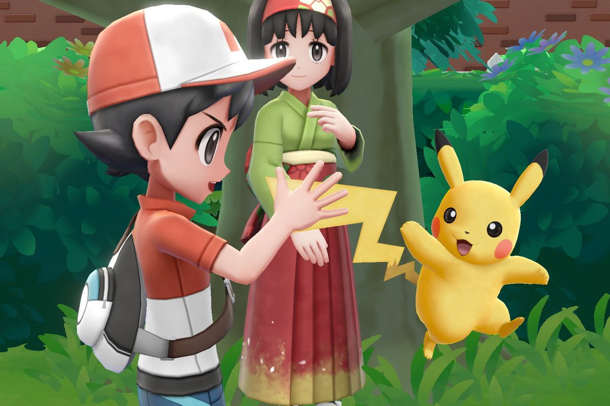 Pokemon Let S Go Review Sometimes Simpler Is Better The Verge