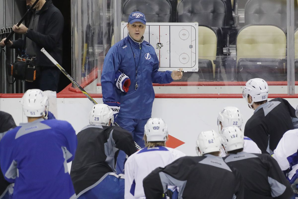 quick strikes the search for the tampa bay lightning s coaching