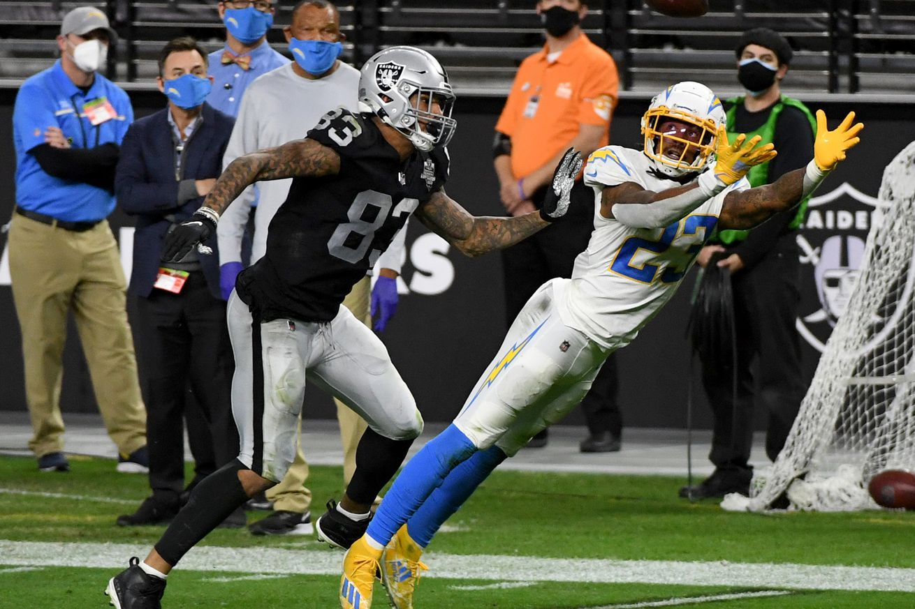 Los Angeles Chargers v Las Vegas Raiders