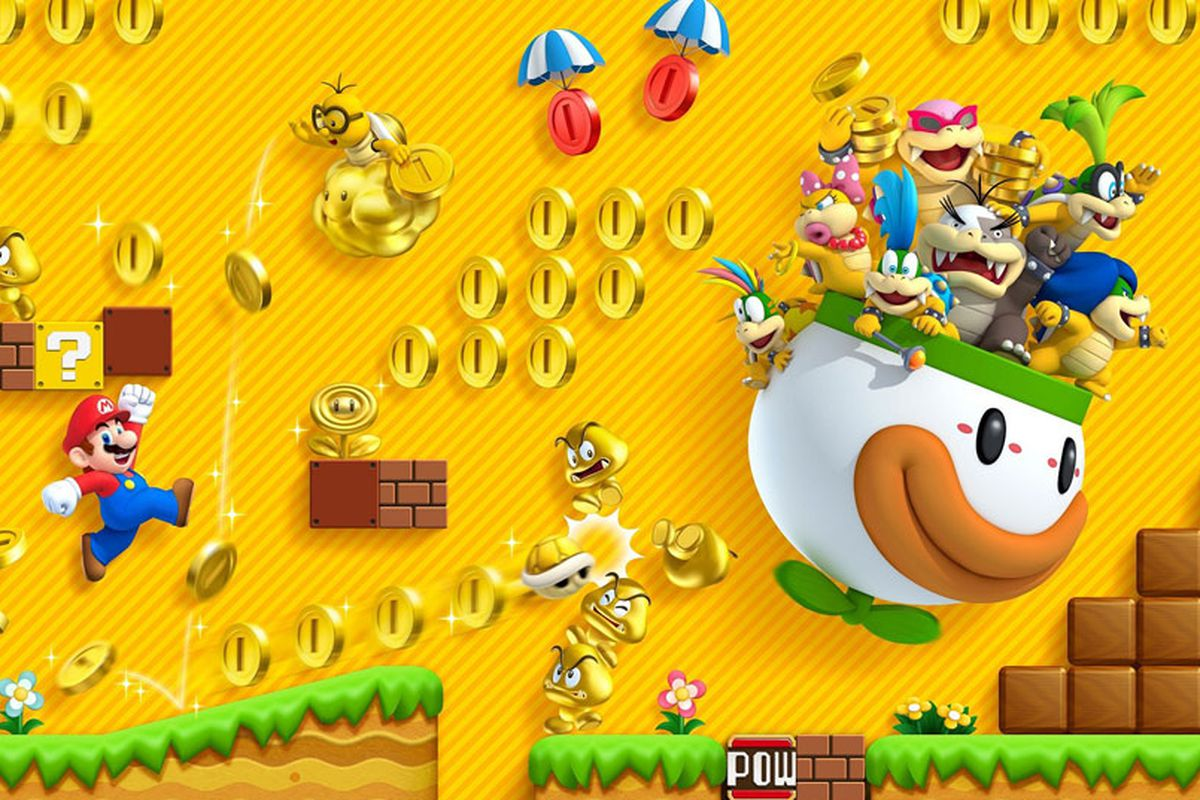 New Super Mario Bros  2 downloadable content coming Oct  4 to North