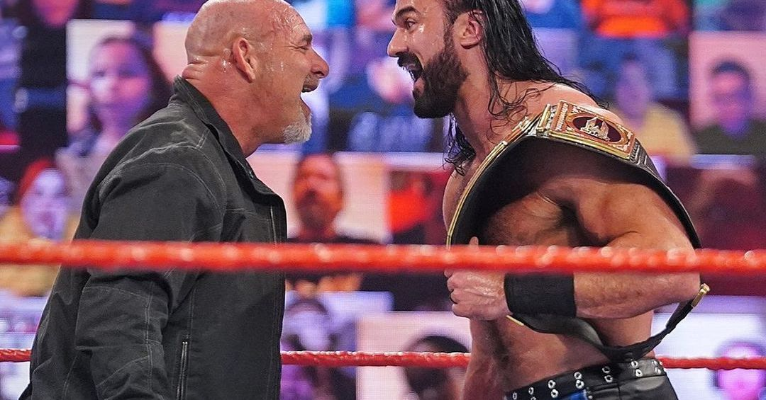 No matter the explanation, Goldberg's Raw promo didn't make any damn sense - Cageside Seats