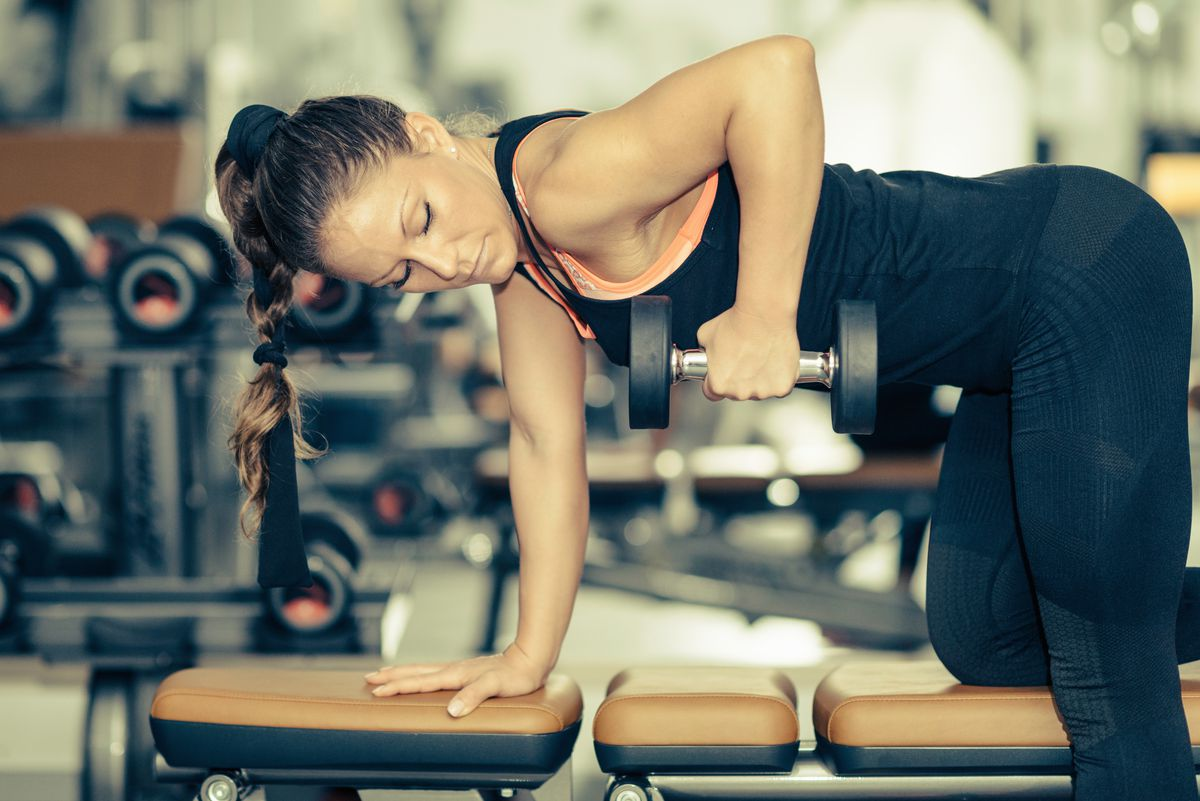 Lunges with weights, push-ups with weights and arm raises with weights would all be good weight-resistance training.