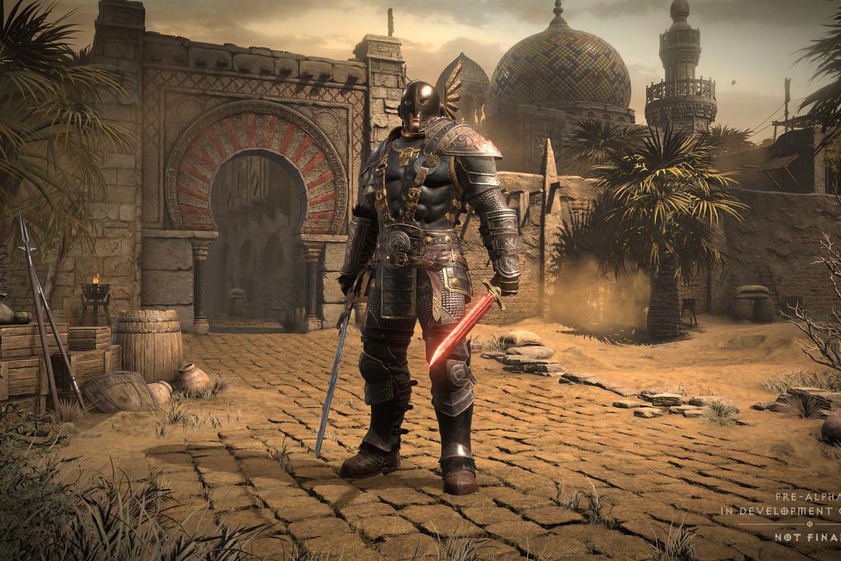 Diablo 2 character select