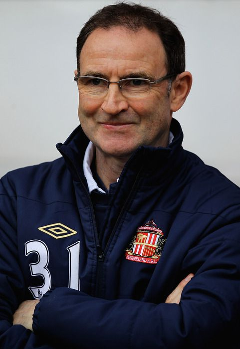 Martin O'Neill: Cutting a frustrated figure. (Photo by Matthew Lewis/Getty Images)