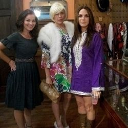 There were three of our favorite FNO ladies, who would probably look just as stylish on any other night, toto.