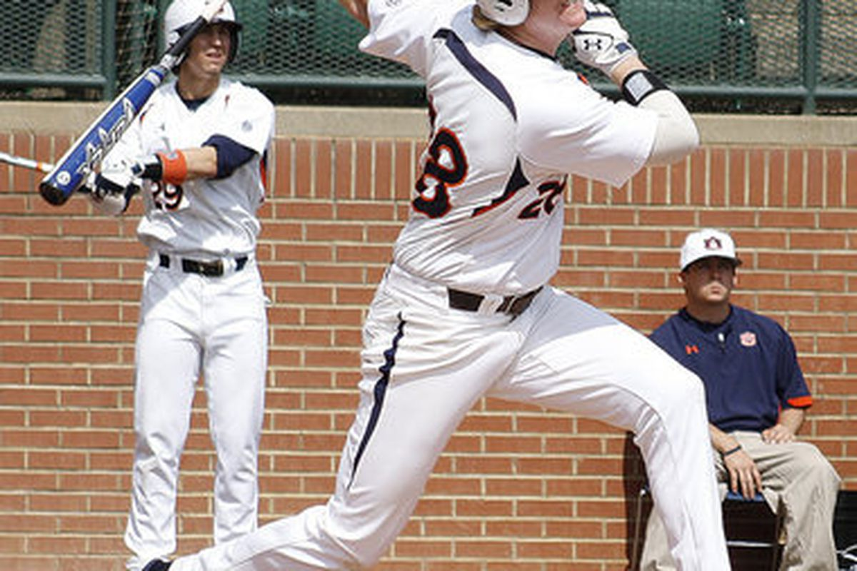 Auburn Outfielder Ryan Tella leads the SEC's top hitting team with a .376 batting average. The Tigers are set to take on Georgia tonight in the start of a three game series in Athens.