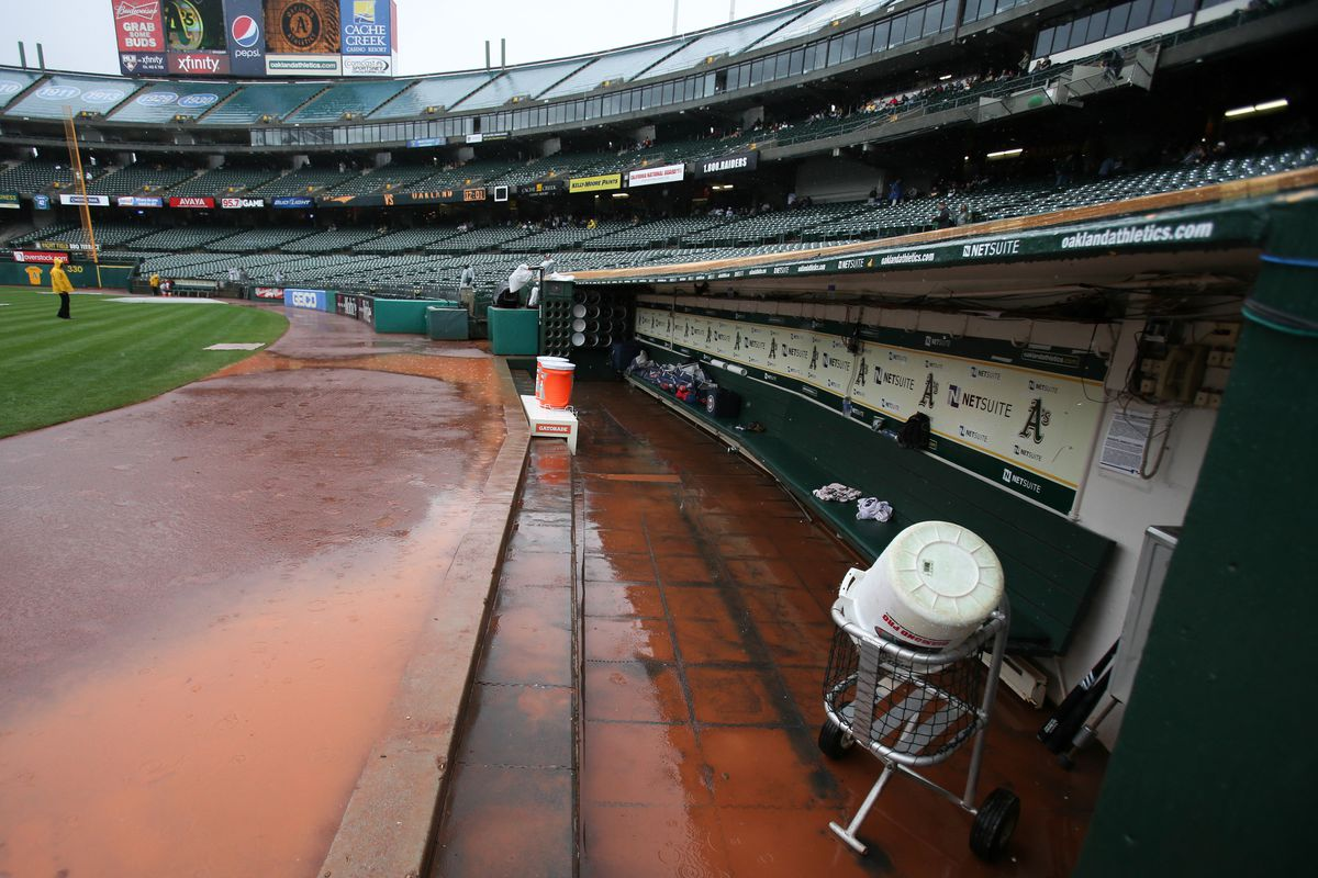 The new market inefficiency: Using free rainwater to flood the dugout so that the opponent has nowhere to sit during the game.