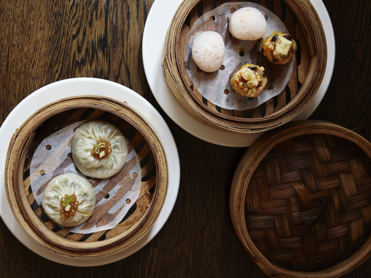 Dim sum at Michelin-starred A. Wong, the Chinese tasting menu restaurant in Victoria that forms part of the best 24 hour restaurant travel itinerary for London — where to eat with one day in the city