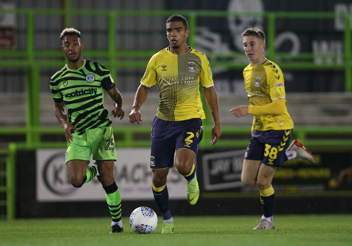 Forest Green Rovers v Coventry City - EFL Trophy - Southern Section - Group L - The New Lawn