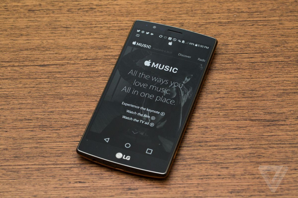 Apple Music for Android now lets you save songs to an SD card - The