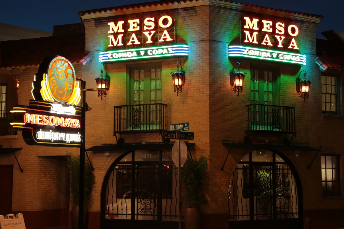 Meso Maya In Downtown Dallas