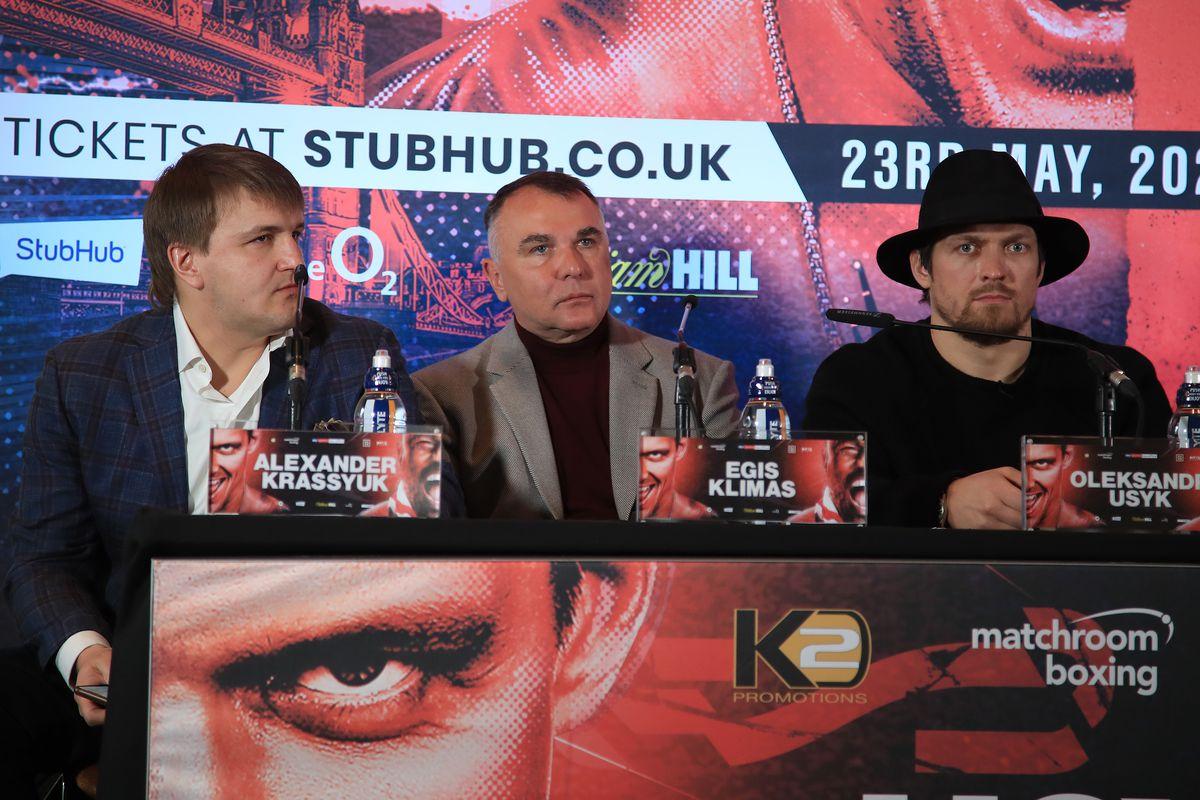 Oleksandr Usyk and Derek Chisora Press Conference