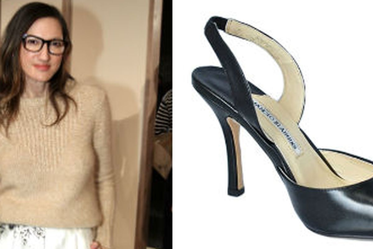 Jenna Lyons and Manolo, together at last. Image via Getty