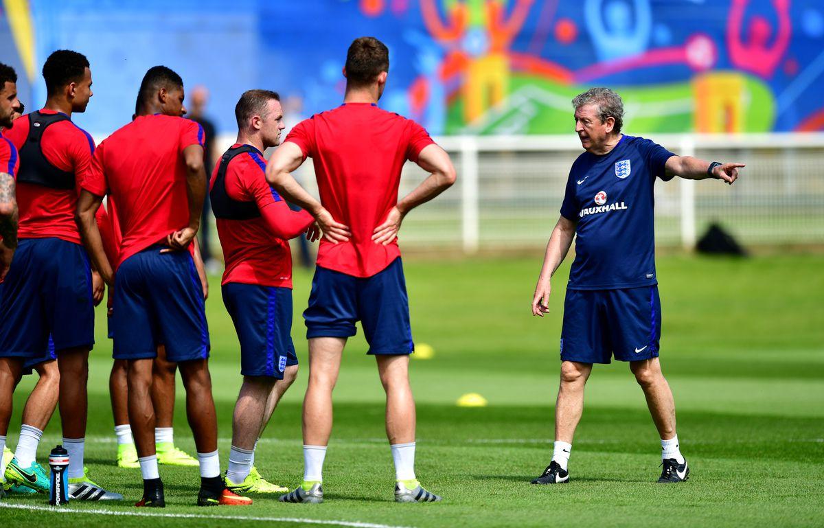 England Training Session - UEFA Euro 2016