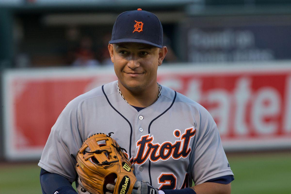 Detroit Tigers star Miguel Cabrera