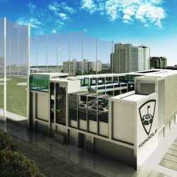 Another view of Topgolf