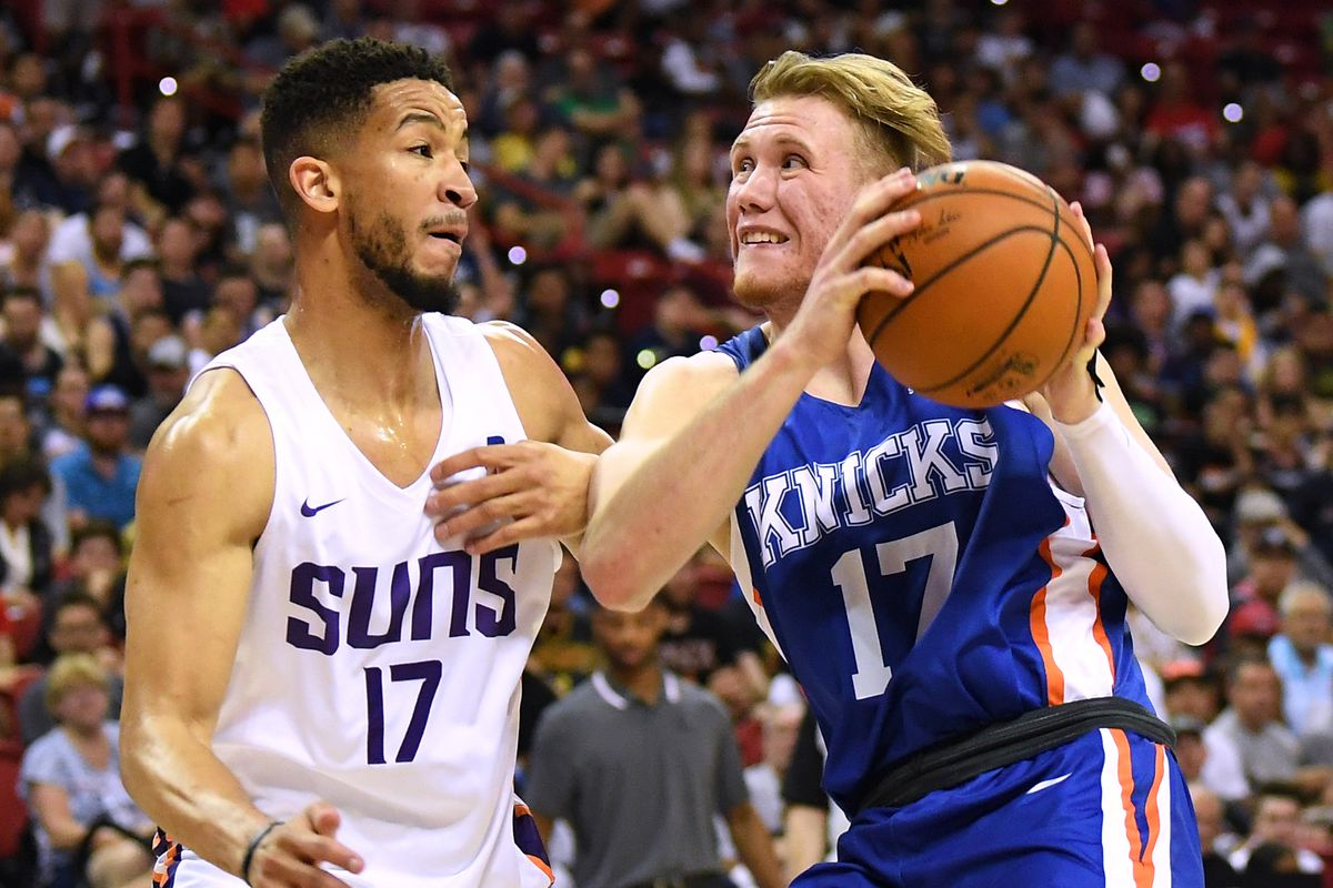 Ignas Brazdeikis has huge game for Knicks in NBA Summer League