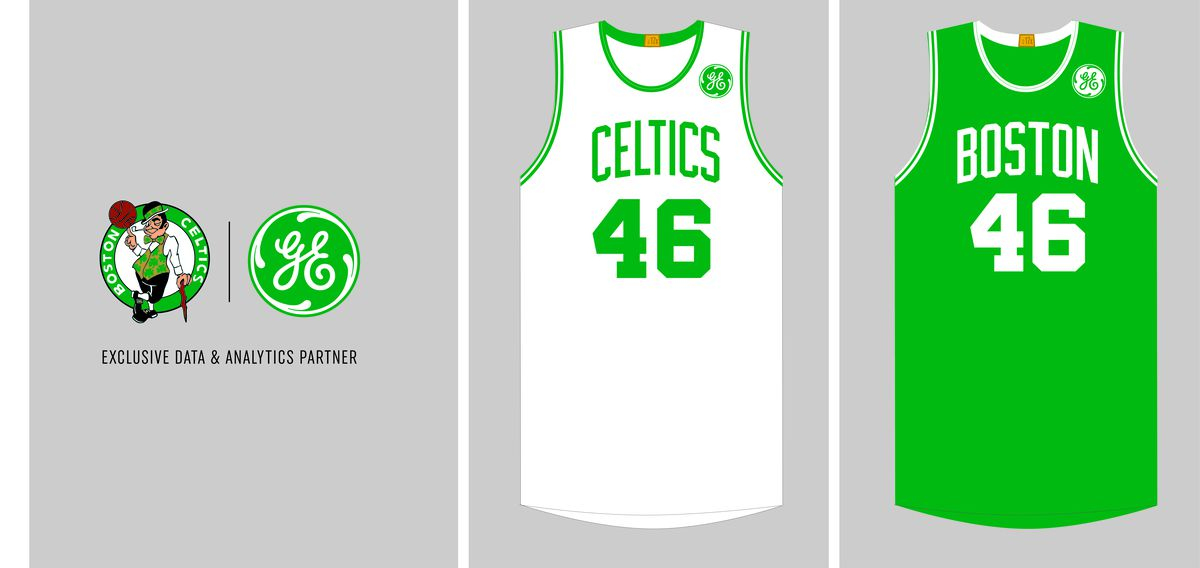 74f3e6c0e Boston Celtics and General Electric announce jersey sponsorship ...
