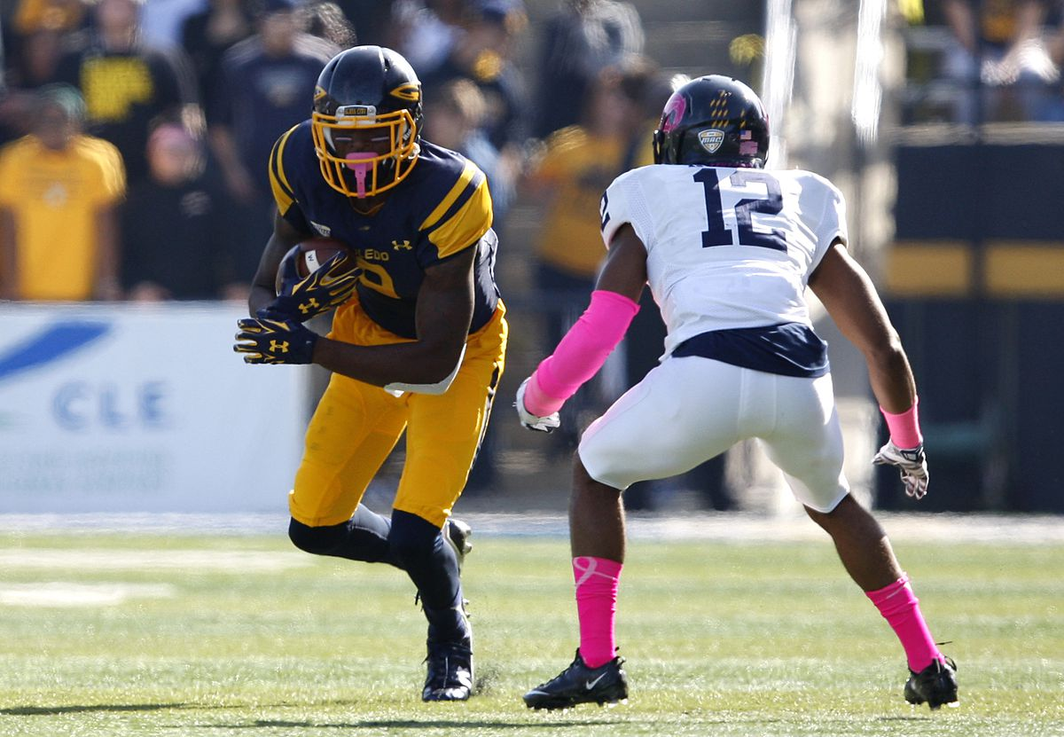 NCAA Football: Kent State at Toledo