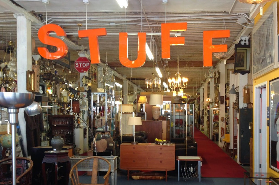 This Two Level Warehouse Of Furniture Art And Accessories Could Be Considered The Mother All Vintage S Spending A Hours Browsing Here