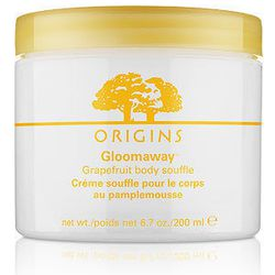 Origins Gloomaway Grapefruit Body Soufflé, $31, Macy's. Let your skin soak up the grapefruit in souffle form with this light body moisturizer.