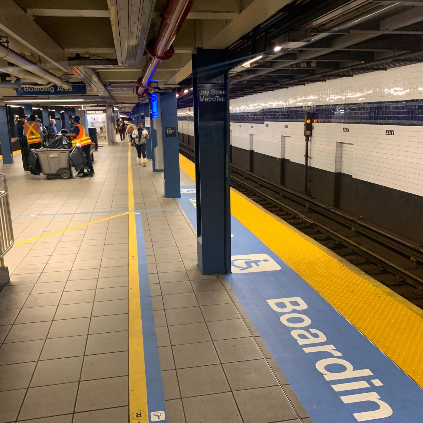 Mta Turns Jay Street Metrotech Station Into An Accessibility Lab