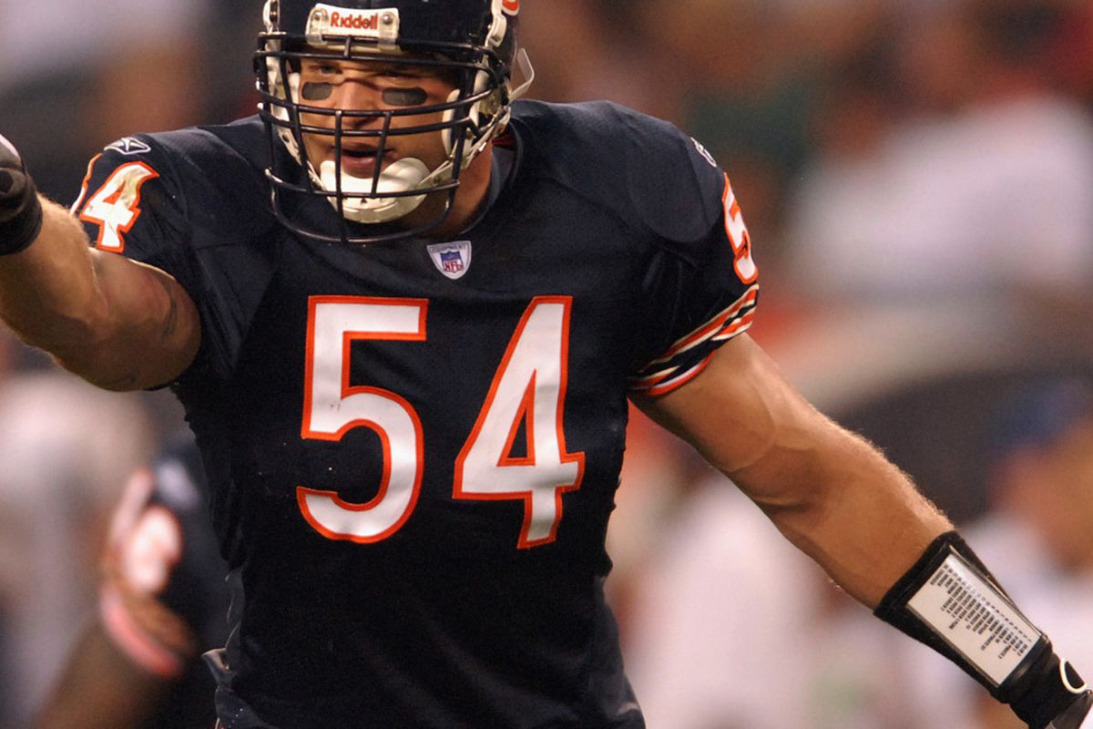 low priced f5ab2 ed988 54 reasons why Brian Urlacher made it to the Hall of Fame ...