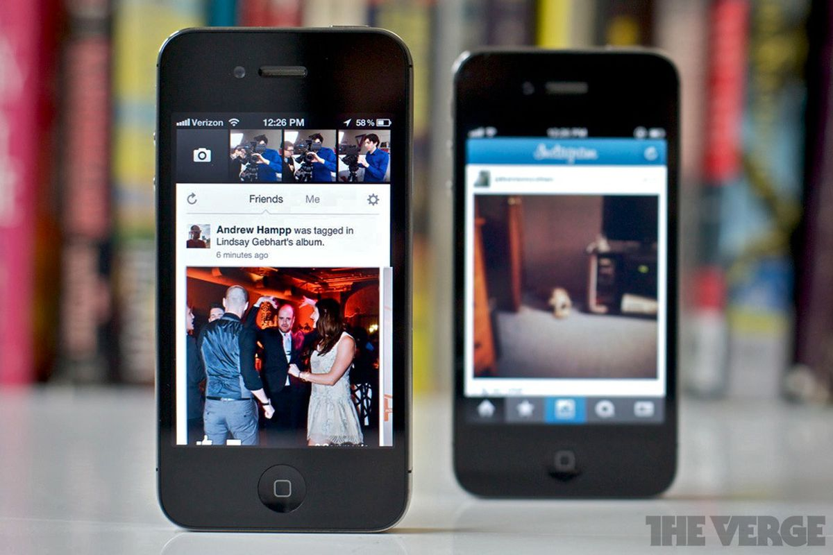 Facebook camera for iphone launches with instagram esque for Facebook camera
