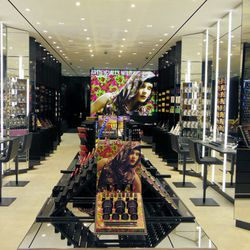"""After stuffing your face, hit up <a href=""""http://www.maccosmetics.com"""" target=""""_blank"""">MAC Cosmetics</a>'s new makeup mecca (363 N Beverly Drive). If you're in need of a quick touch-up, the shop's beautification pros offer free on-the-floor services in un"""