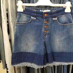 See by Chloe denim shorts, $83 (orig. $275)