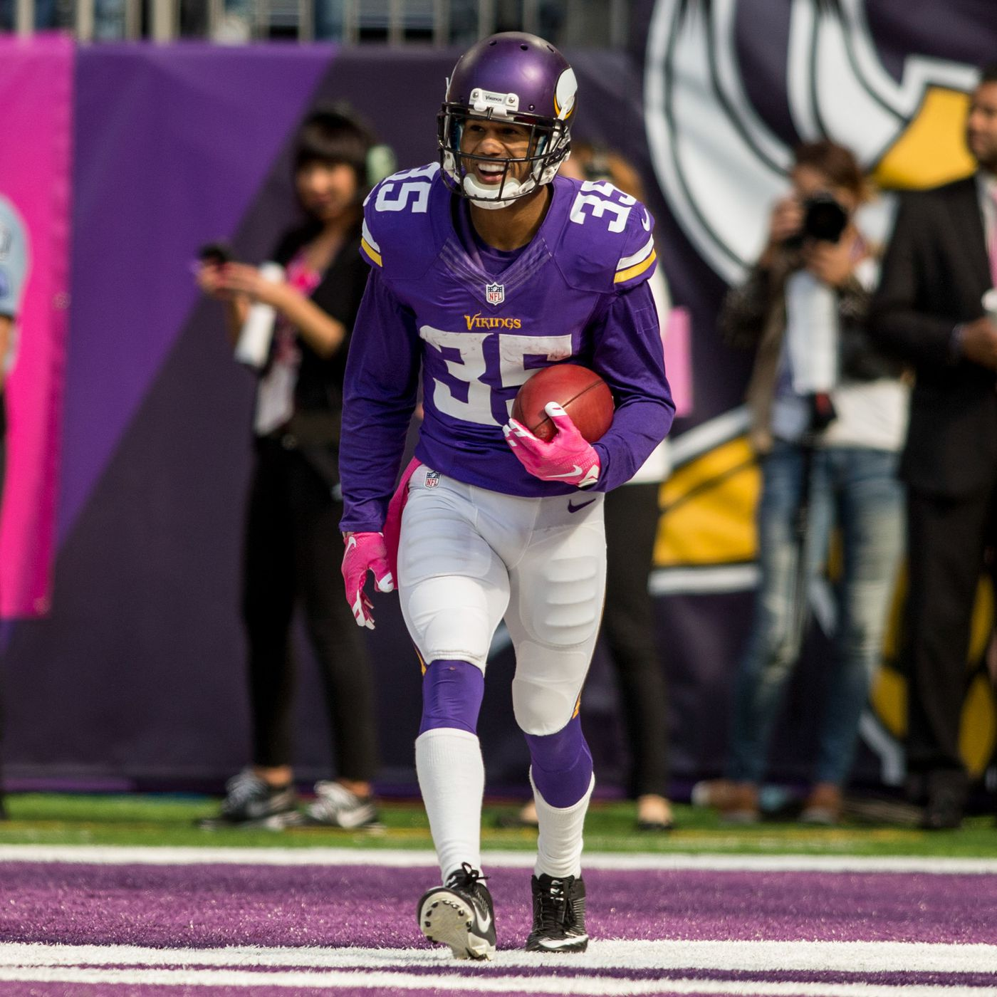 Marcus Sherels highlights and why his loss is a big deal - Daily ...