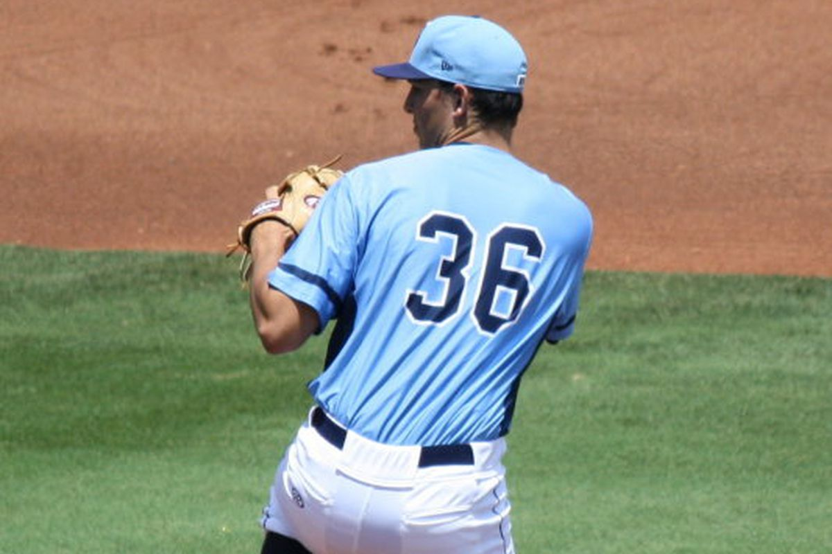 Jacob Faria has allowed two or fewer runs in eight of his nine starts this season