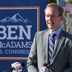Rep. Ben McAdams, D-Utah, discusses his bipartisan bill to prevent veteran suicides. The bill, which studies the connection between living in high-altitudes and rates of suicide, passed in the House and will now go to the president for his signature.