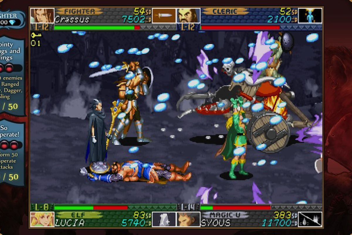 Capcom designers speak out about the new dungeons & dragons arcade.
