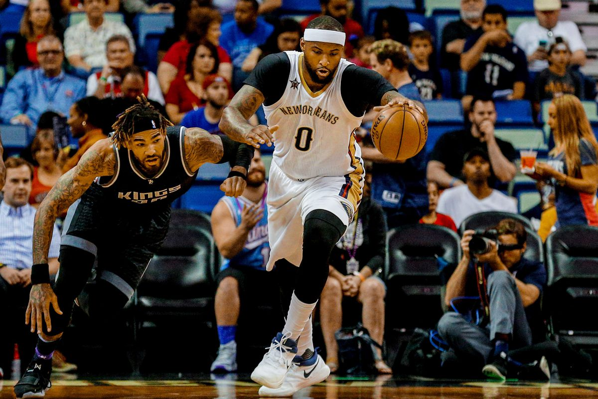 47869d53a Cousins leads the charge against Kings as Pelicans win easily in Hield s  homecoming